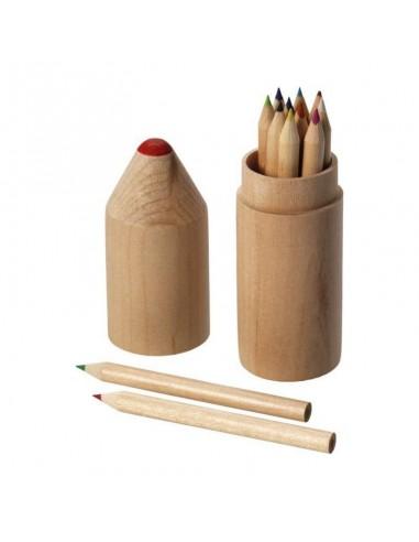 00507 Confezione in legno 12 matite